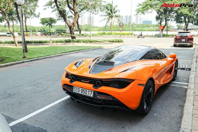Đàm Thu Trang - vợ sắp cưới của doanh nhân Nguyễn Quốc Cường tự tin cầm lái siêu xe McLaren 720S - Ảnh 5.