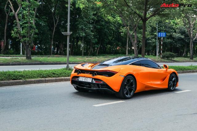 Đàm Thu Trang - vợ sắp cưới của doanh nhân Nguyễn Quốc Cường tự tin cầm lái siêu xe McLaren 720S - Ảnh 8.