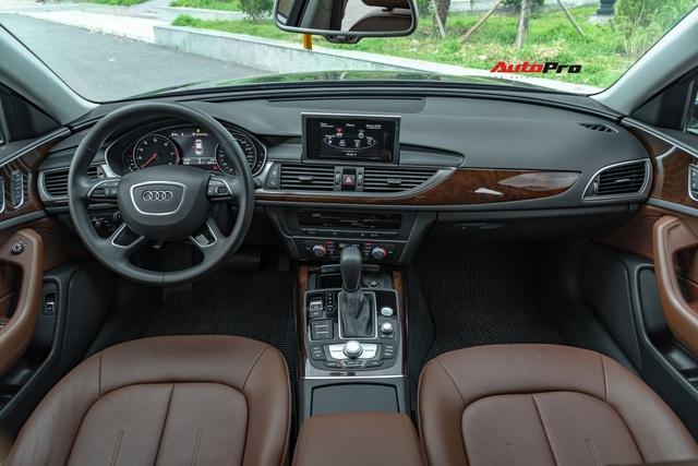 Audi A6 bản APEC bất ngờ lên sàn xe cũ với odo 22.000 km, giá hơn 1,8 tỷ đồng - Ảnh 7.