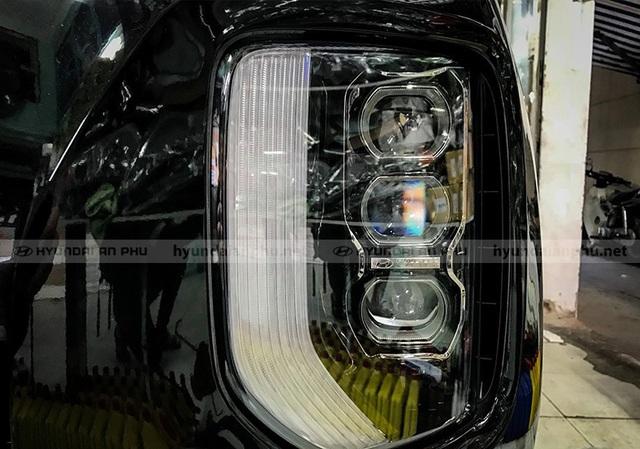 Bóc tách trang bị Hyundai Palisade vừa về đại lý: SUV 8 chỗ, nhiều chi tiết mới lạ so với Santa Fe - Ảnh 5.