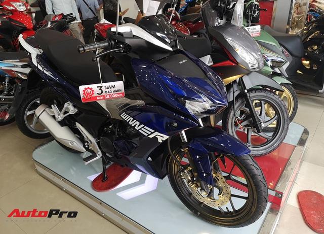 Honda Winner X đội giá hơn 2 triệu đồng, Winner cũ giảm giá hơn 5 triệu đồng - Ảnh 1.