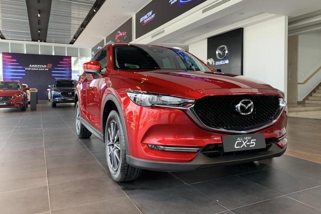 Loạt xe vừa được giảm phí trước bạ giúp khách Việt 'bỏ túi' hàng triệu đồng: Có xe hot Mazda CX-5 và Mazda3 - Ảnh 3.