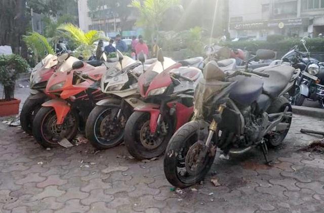 Xót xa siêu mô tô bị vứt xó hoang phế ở đồn cảnh sát - Ảnh 1.