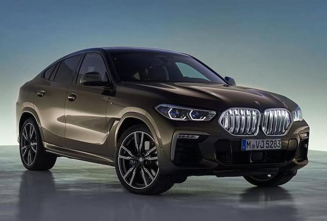 X7 còn chưa ra mắt Việt Nam, BMW X6 thế hệ mới đã lộ diện  - Ảnh 1.