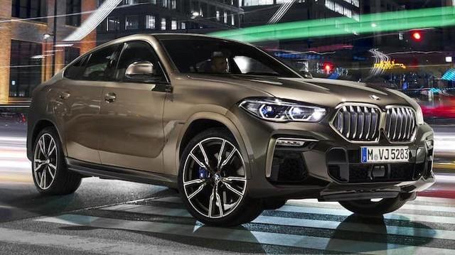 X7 còn chưa ra mắt Việt Nam, BMW X6 thế hệ mới đã lộ diện