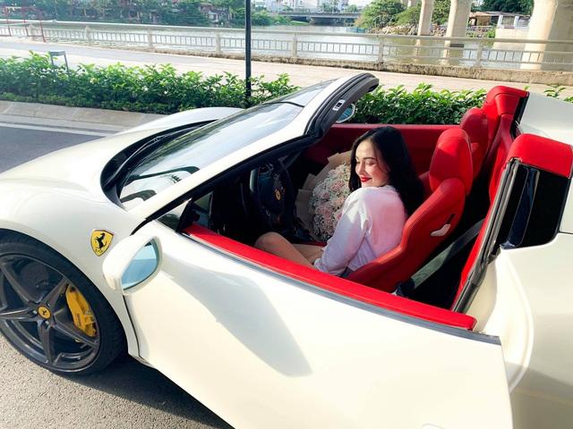 Hot girl mới tậu Ferrari 458 Spider thứ 2 tại Việt Nam là ai? - Ảnh 1.