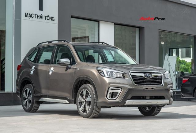 Đánh giá nhanh Subaru Forester 2019: Le lói cơ hội trước Honda CR-V và Mazda CX-5 - Ảnh 5.