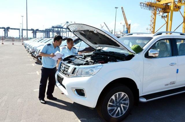 Phát hiện hàng chục xe nhập khẩu bị tẩy xóa số khung, chất lượng kém  - Ảnh 1.