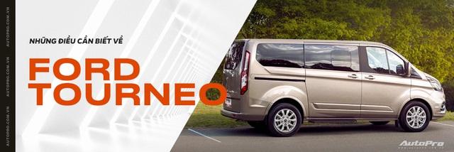 Lộ thông số kỹ thuật 2 phiên bản Ford Tourneo tại Việt Nam, chênh lệch 200 triệu đồng - Ảnh 5.