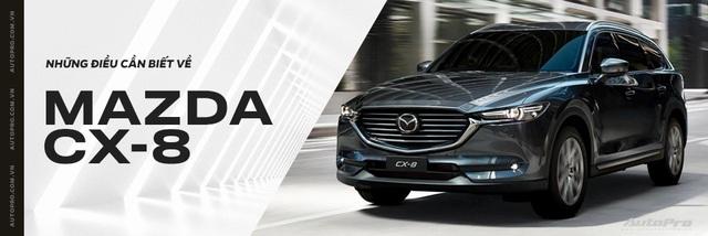 Rò rỉ nhiều trang bị hiện đại bất ngờ trên Mazda CX-8 sắp bán và có thể lắp ráp tại Việt Nam - Ảnh 6.