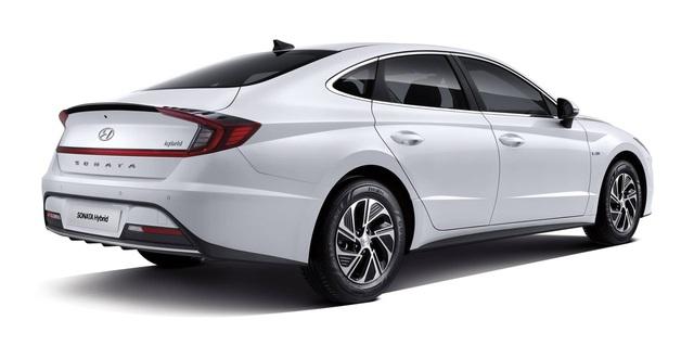 Hyundai Sonata Hybrid 2020 trang bị trần xe hấp thụ năng lượng mặt trời, hộp số mới - Ảnh 3.
