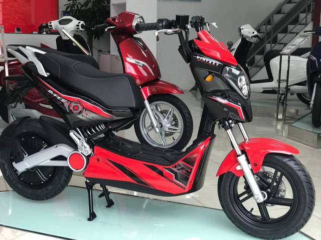 Cặp đôi xe điện mới của VinFast bất ngờ xuất hiện ở đại lý, giá khoảng 20 triệu đồng - Ảnh 1.