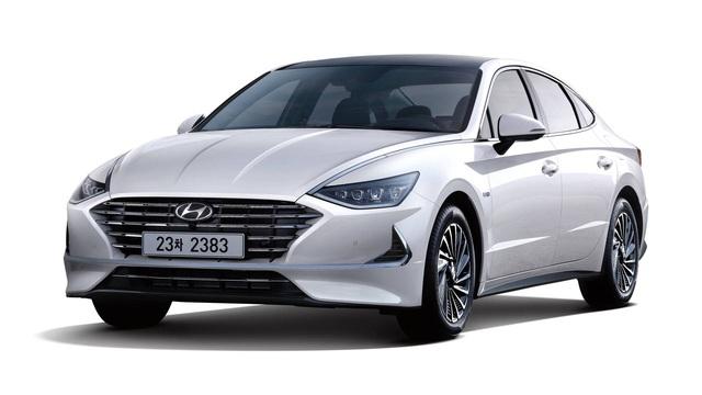 Hyundai Sonata Hybrid 2020 trang bị trần xe hấp thụ năng lượng mặt trời, hộp số mới - Ảnh 2.