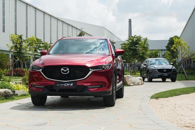 Mazda CX-5 bản nâng cấp chuẩn bị ra mắt Việt Nam, quyết giành lại ngôi vương từ Honda CR-V - Ảnh 1.