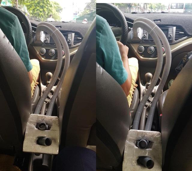 Thời tiết quá nóng, chủ xe Mazda CX-5 tự chế quạt ghế sau với giá chỉ vài trăm ngàn đồng - Ảnh 2.