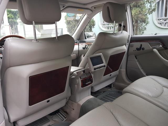 Bán Mercedes-Benz S500 cũ giá 399 triệu, chủ xe tuyên bố: Máy còn rất chất - Ảnh 4.