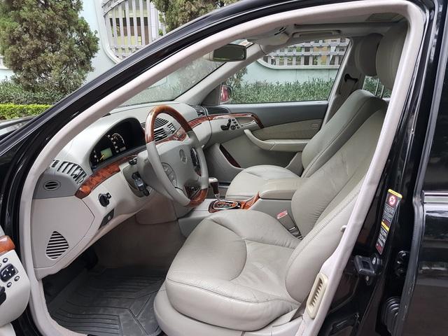 Bán Mercedes-Benz S500 cũ giá 399 triệu, chủ xe tuyên bố: Máy còn rất chất - Ảnh 3.