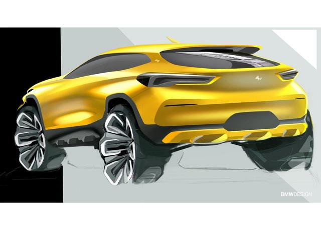 BMW nhăm nhe sản xuất thêm SUV cỡ nhỏ dưới cả X1, X2 - Ảnh 1.
