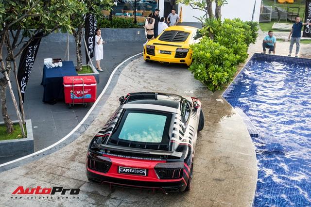 Trước đám cưới Cường Đô-la, dàn xe 250 tỷ hội ngộ thành viên Car Passion và Gia Lai Team - Ảnh 2.