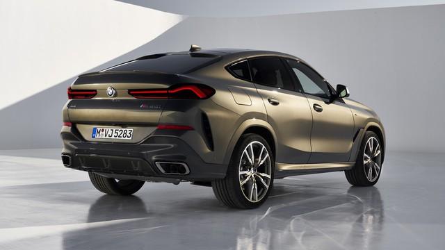 BMW X6 hoàn toàn mới tung loạt video chi tiết