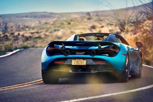 McLaren ra mắt phiên bản xe mui trần trong năm 2020 với giá triệu đô - Ảnh 5.