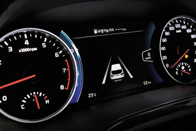Đã có ảnh nội thất Kia Seltos: Cạnh tranh Honda HR-V bằng công nghệ - Ảnh 5.