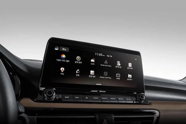 Đã có ảnh nội thất Kia Seltos: Cạnh tranh Honda HR-V bằng công nghệ - Ảnh 3.