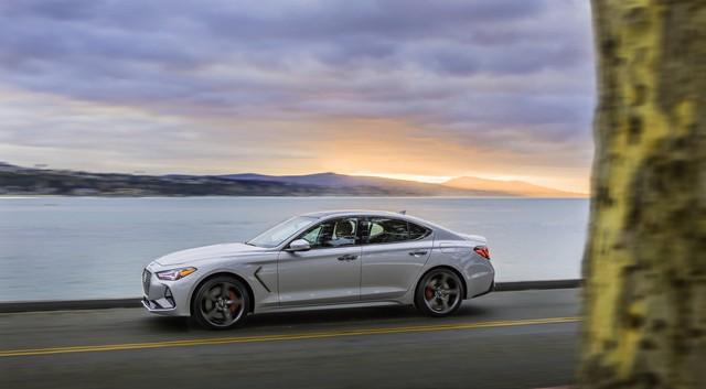Genesis có bước nhảy vọt doanh số đầu tiên - Thế lực mới nổi dần đe dọa tới Mercedes, Audi, BMW và Lexus - Ảnh 1.