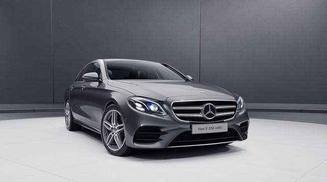 Mercedes-Benz E350 AMG có giá dự kiến 2,89 tỷ đồng - tân binh đe dọa BMW 5-Series, Audi A6 và Lexus ES - Ảnh 1.