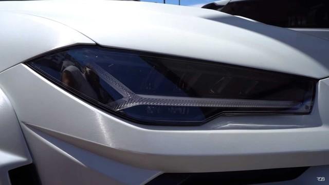 Siêu SUV Lamborghini Urus gây ấn tượng mạnh nhờ bộ bodykit thân rộng hầm hố - Ảnh 7.