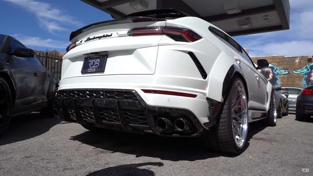 Siêu SUV Lamborghini Urus gây ấn tượng mạnh nhờ bộ bodykit thân rộng hầm hố - Ảnh 5.