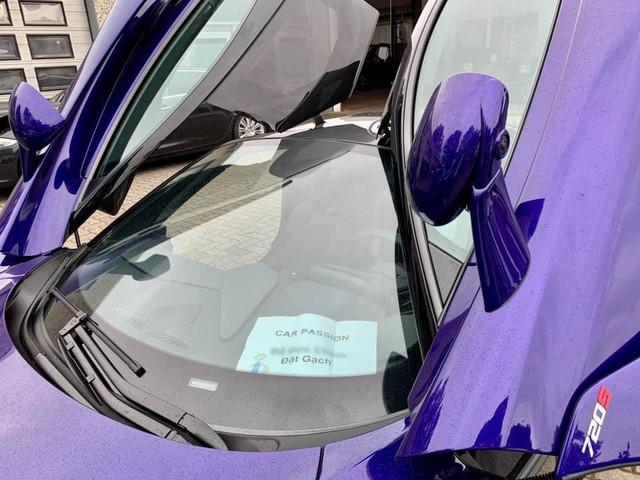 McLaren 720S màu tím hàng độc cập bến Việt Nam, thuộc sở hữu của đại gia đang nắm trong tay những siêu xe độ khủng - Ảnh 2.