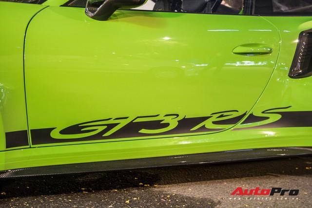 Porsche 911 GT3 RS Lizard Green độc nhất Việt Nam lần đầu ra phố Sài Gòn, thêm nhiều chi tiết độ TechArt Carbon khủng - Ảnh 10.