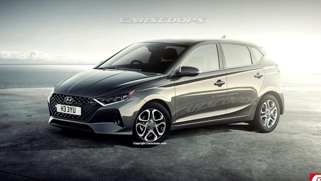 Hyundai i20 2020 lột xác như Elantra, Sonata, cạnh tranh Toyota Yaris