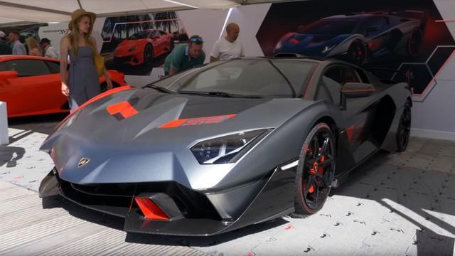 Siêu phẩm Lamborghini SC18 Alston độc nhất vô nhị lần đầu xuất hiện ngoài đời thực