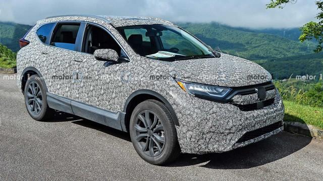 Honda CR-V 2020 lần đầu xuất hiện với 3 phiên bản, tăng sức cạnh tranh Mazda CX-5 - Ảnh 2.