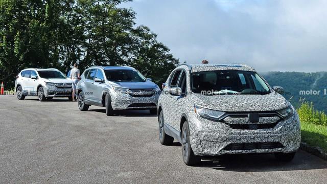 Honda CR-V 2020 lần đầu xuất hiện với 3 phiên bản, tăng sức cạnh tranh Mazda CX-5 - Ảnh 1.