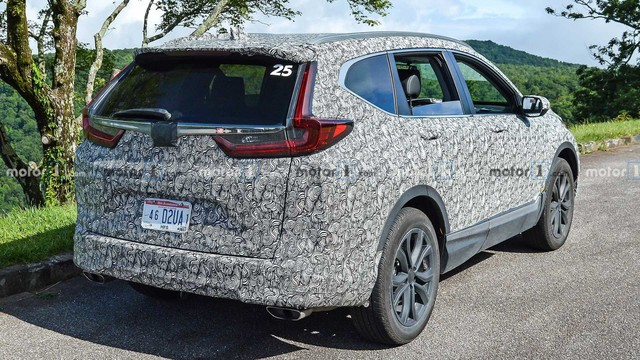 Honda CR-V 2020 lần đầu xuất hiện với 3 phiên bản, tăng sức cạnh tranh Mazda CX-5 - Ảnh 3.