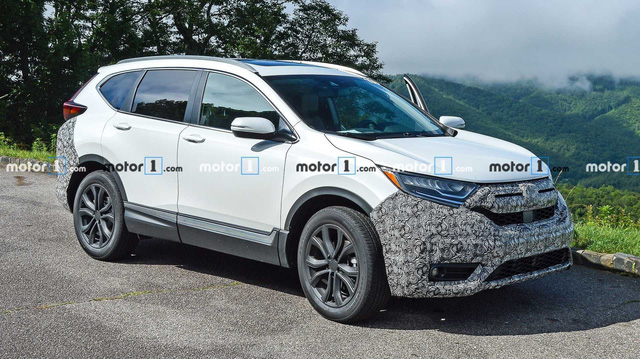 Honda CR-V 2020 lần đầu xuất hiện với 3 phiên bản, tăng sức cạnh tranh Mazda CX-5