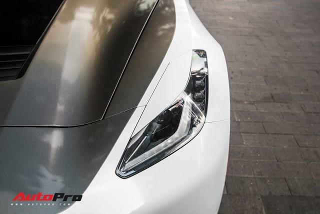 Chevrolet Corvette C7 Stingray đổi màu độc đáo - Cách đại gia Hà Nội tạo sự chú ý tại Sài Gòn - Ảnh 15.
