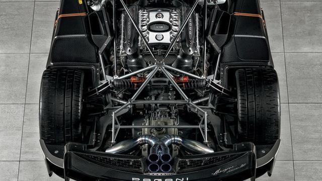 Ra mắt siêu phẩm Pagani Huayra Roadster BC: Thần gió với động cơ V12 mạnh 791 mã lực - Ảnh 3.
