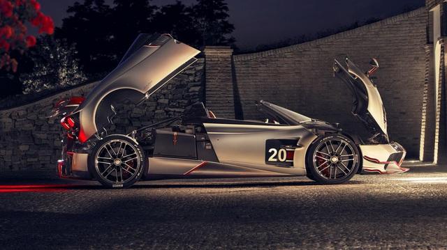 Ra mắt siêu phẩm Pagani Huayra Roadster BC: Thần gió với động cơ V12 mạnh 791 mã lực