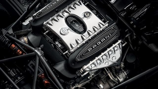 Ra mắt siêu phẩm Pagani Huayra Roadster BC: Thần gió với động cơ V12 mạnh 791 mã lực - Ảnh 4.