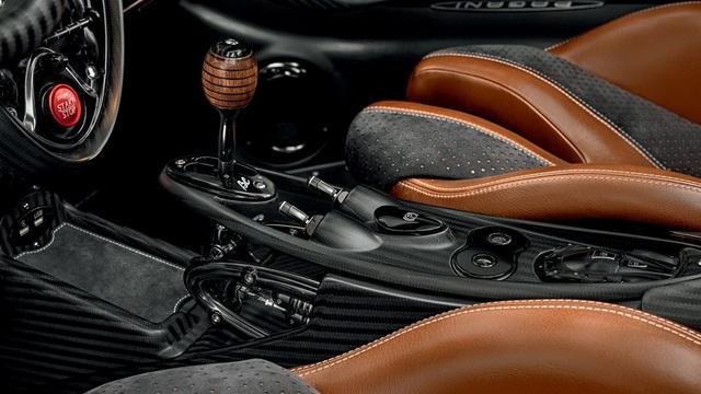 Ra mắt siêu phẩm Pagani Huayra Roadster BC: Thần gió với động cơ V12 mạnh 791 mã lực - Ảnh 9.