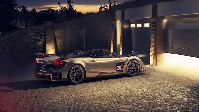 Ra mắt siêu phẩm Pagani Huayra Roadster BC: Thần gió với động cơ V12 mạnh 791 mã lực - Ảnh 2.