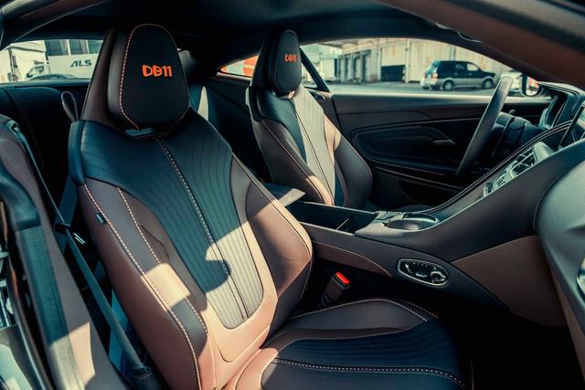 Aston Martin DB11 vừa về Việt Nam sở hữu lớp sơn siêu độc cần nghệ nhân giàu kinh nghiệm chế tác - Ảnh 3.