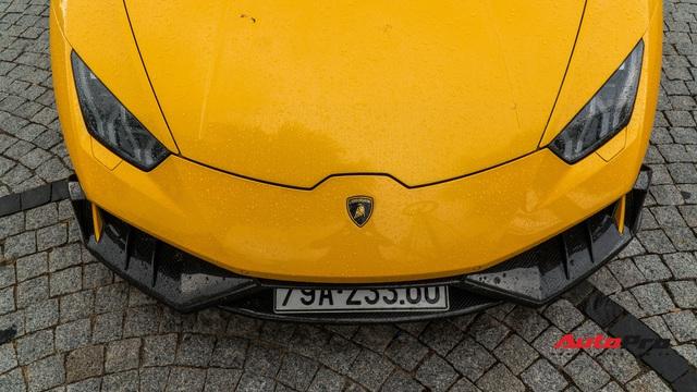 Lamborghini Huracan độ Mansory từng của Cường 'Đô-la' bất ngờ long lanh sau một thời gian phủ bụi kín đặc - Ảnh 6.