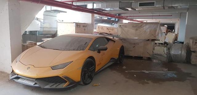 Lamborghini Huracan độ Mansory từng của Cường 'Đô-la' bất ngờ long lanh sau một thời gian phủ bụi kín đặc - Ảnh 2.