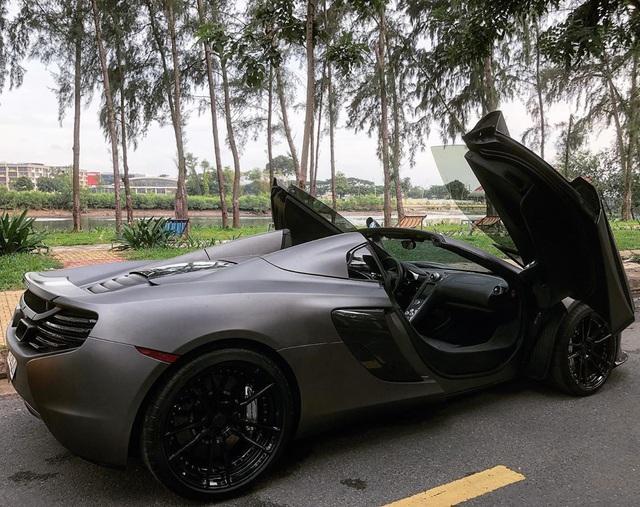 McLaren 650S Spider màu xám nhám mới có mặt tại Sài Gòn tưởng lạ mà quen - Ảnh 4.