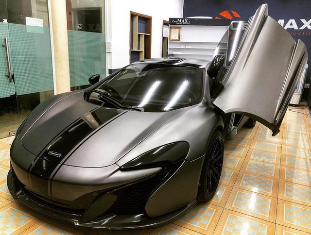 McLaren 650S Spider màu xám nhám mới có mặt tại Sài Gòn tưởng lạ mà quen - Ảnh 2.